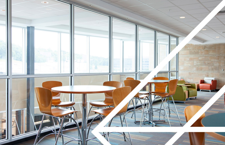 Lounge furniture for Advantage Technology Center