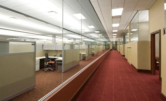 BrickStreet Insurance Hallway
