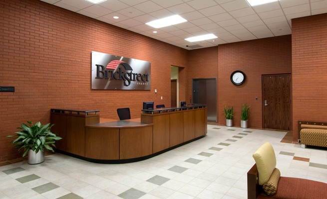 BrickStreet Insurance Reception Area