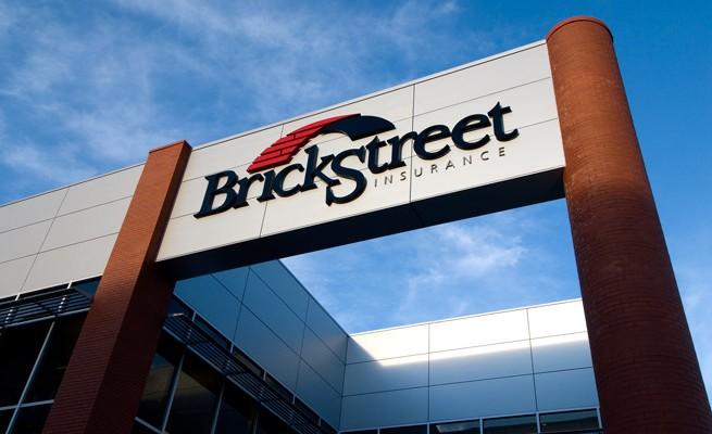 BrickStreet Insurance Exterior Signage