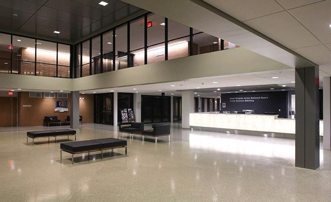 Joint Interagency Training and Education Center Lobby