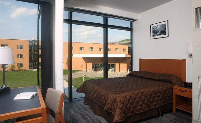 Joint Interagency Training and Education Center Bedroom