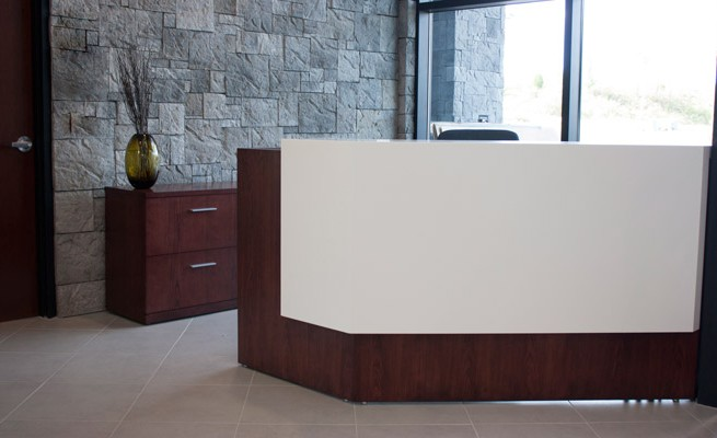 Energy Corporation of America Reception Desk