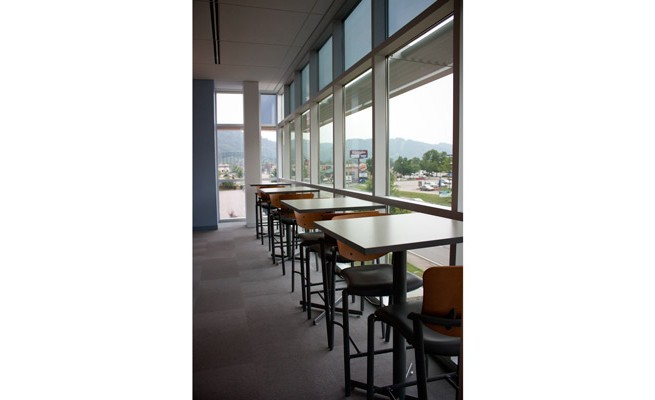 WV Housing Development Fund Cafe Tables and Stools