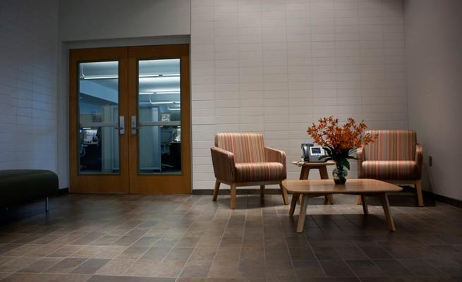WV Housing Development Fund Reception Lounge Chairs