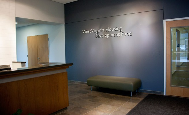 WV Housing Development Fund Reception Area
