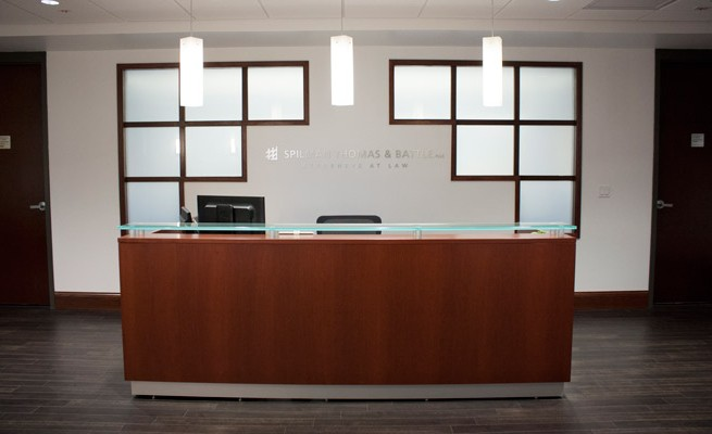 Spilman Thomas & Battle, PLLC Reception Desk