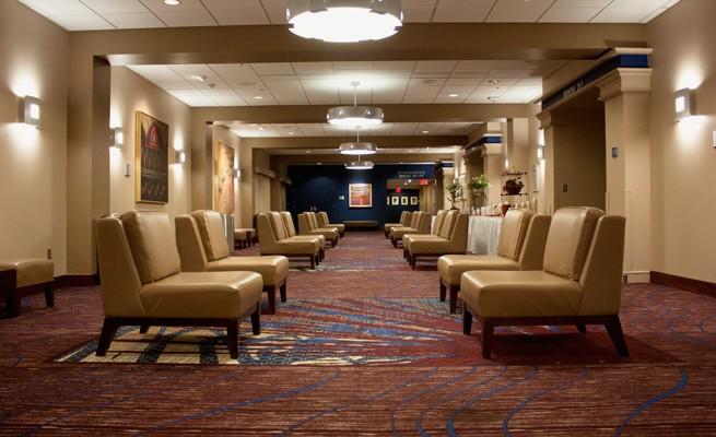 Charleston Civic Center Lounge Seating