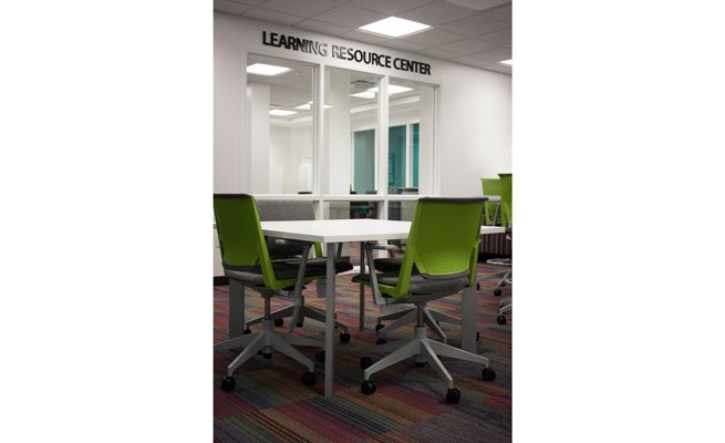 INTO Marshall University Learning Resource Center Tables and Chairs