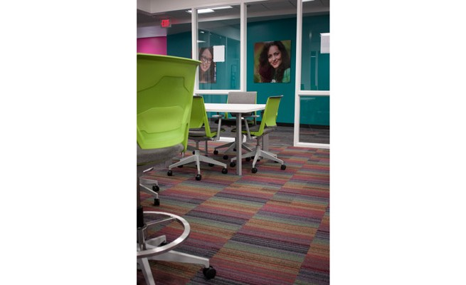 INTO Marshall University Learning Resource Center Chairs and Tables