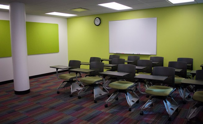 INTO Marshall University Classroom Chairs