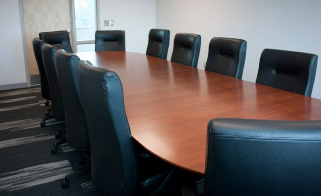 Kanawha Valley Community and Technical College Conference Table and Chairs