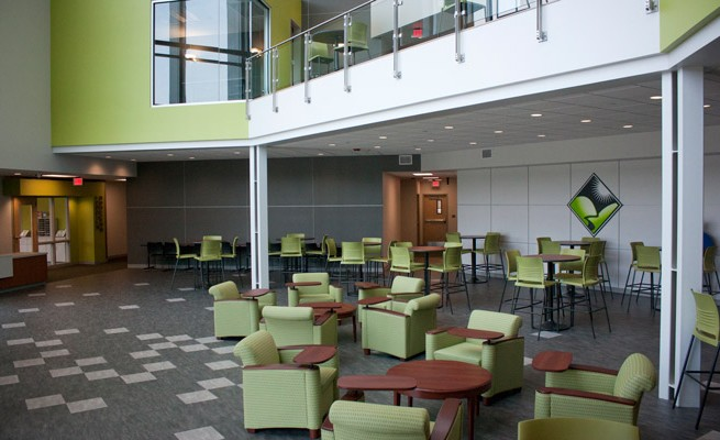Kanawha Valley Community and Technical College Lobby Lounge Area