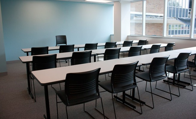Kanawha Valley Community and Technical College Classroom