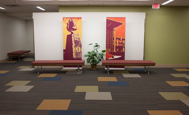 Turley Center at Fairmont State University Lounge Area