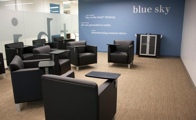 Dixon Hughes Goodman Blue Sky Media Room