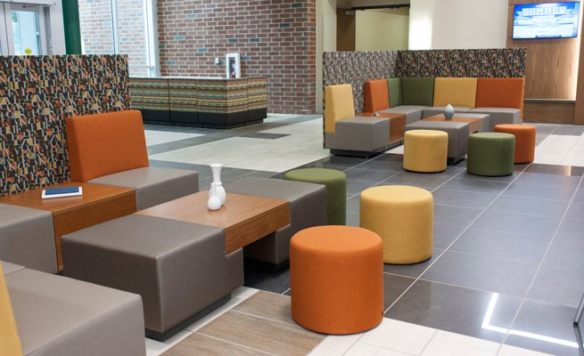 Arthur Weisberg Family Applied Engineering Complex Lounge