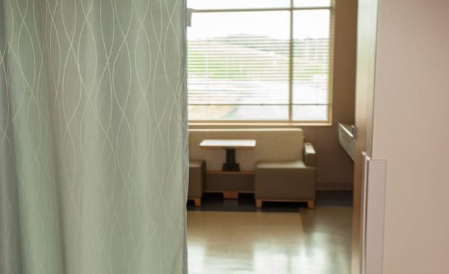 Preston Memorial Hospital Patient Room Privacy Curtain