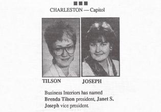 Brenda Tilson and Janet Joseph