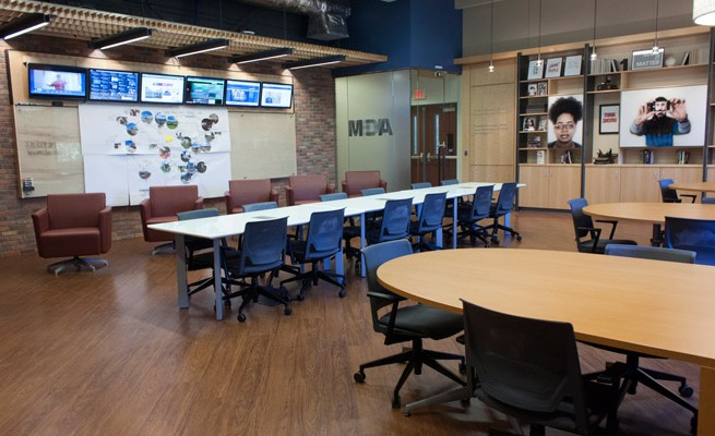 WVU Martin Hall Media Innovation Lab Furniture
