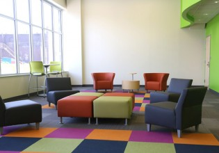 Goodwill Prosperity Center Lounge Area