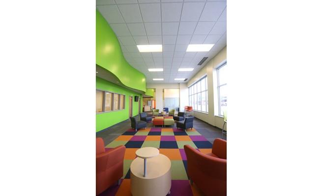 Goodwill Prosperity Center Lounge Area