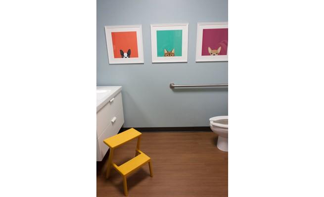 Just For Kids Dentistry Restroom