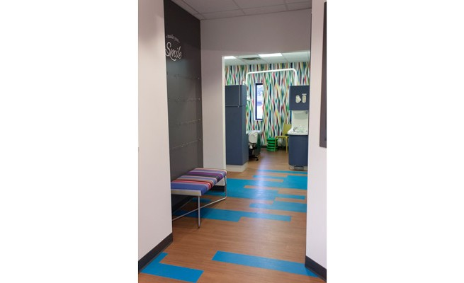 Just For Kids Dentistry Hallway
