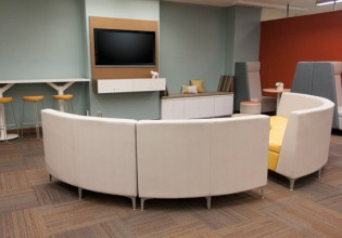 Kanawha County Public Library Lounge Area