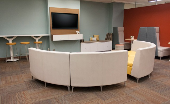 Kanawha County Public Library Lounge Area