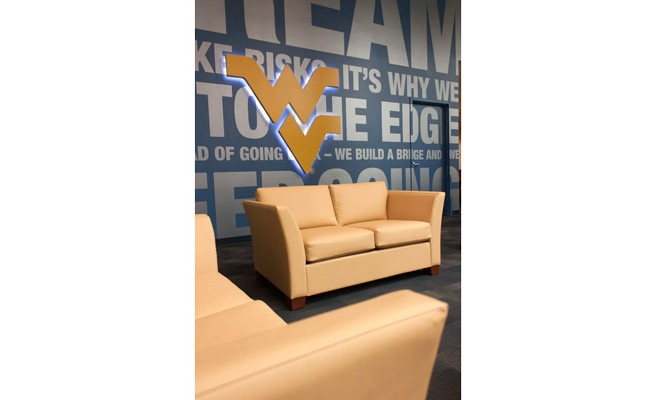 West Virginia University Admissions Lounge Seating