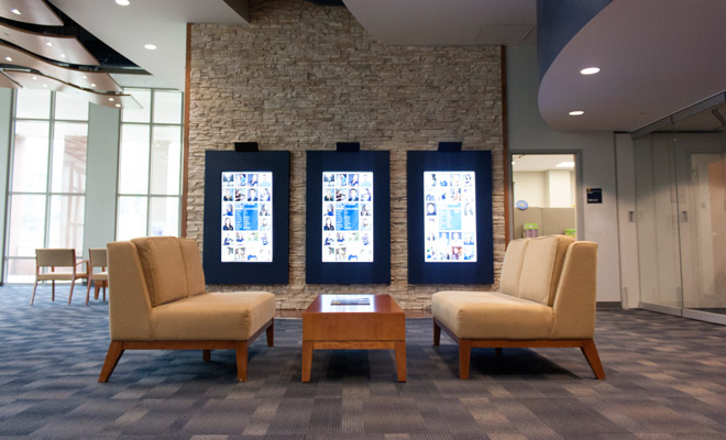 West Virginia University Visitors Center Lounge Seating