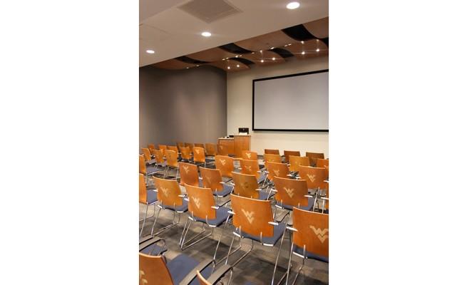 West Virginia University Visitors Center Media Room