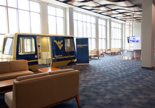 West Virginia University Visitors Center