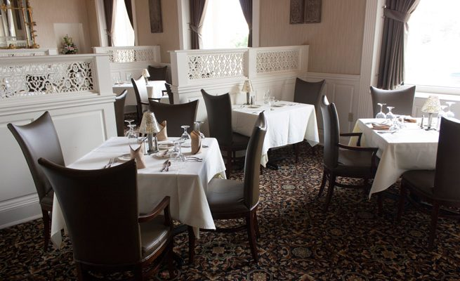 Laury's Restaurant Tables and Chairs