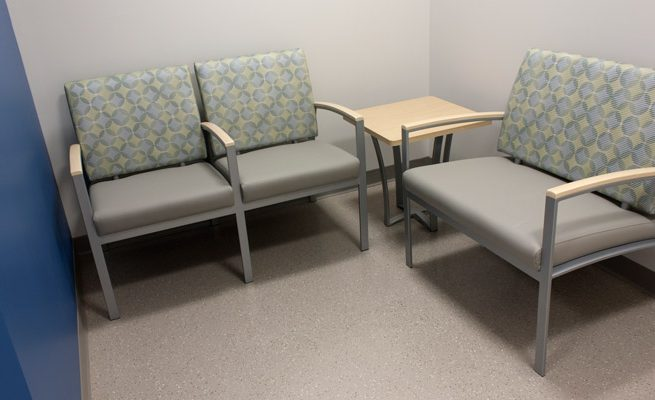 Valley Health Wayne Waiting Area