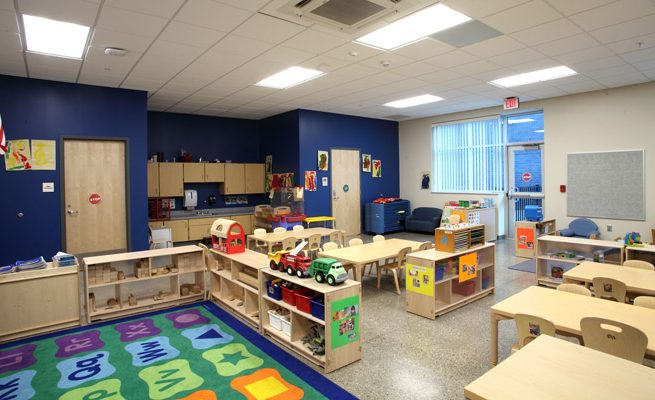 Crum PK-8 School Pre-K Room