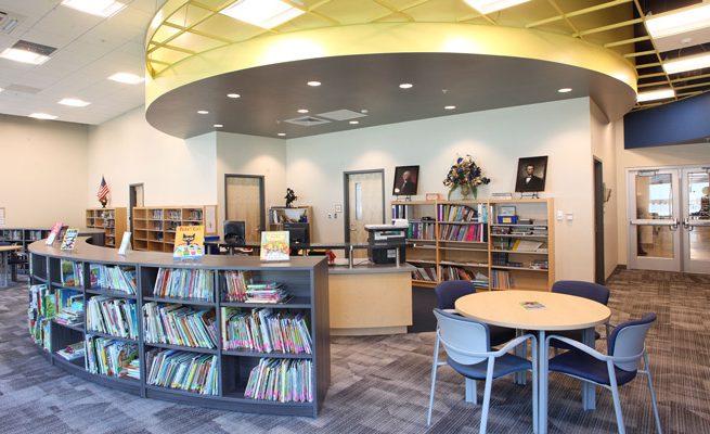 Crum PK-8 School Library