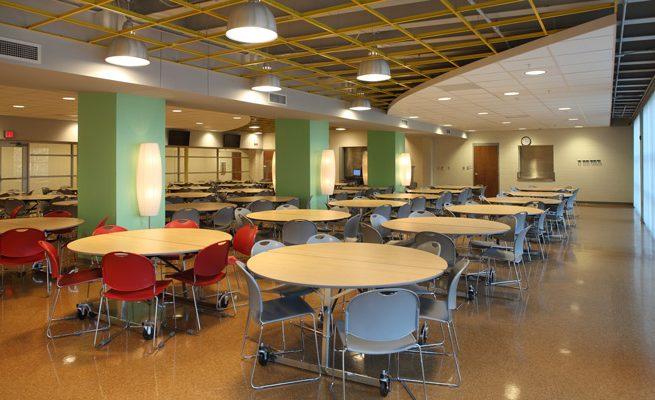 Explorer Academy Cafeteria