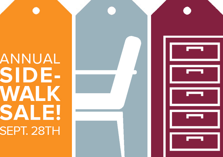 CBI's annual Sidewalk Sale September 28