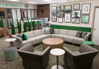 Marshall University Student Government Lounge Area