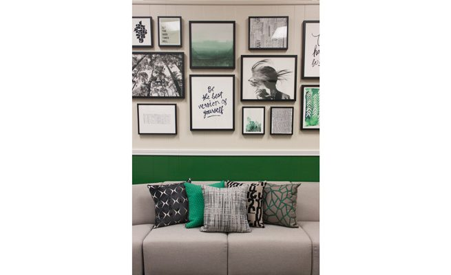 Marshall University Student Government Gallery Wall