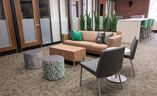 Marshall University Student Government Lounge Area