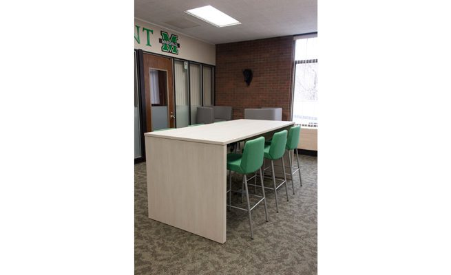 Marshall University Student Government Meeting Table