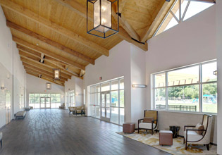 Valley Park Conference Center Foyer
