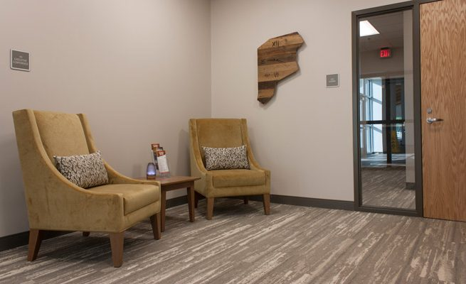 Valley Park Conference Center Office Waiting Area
