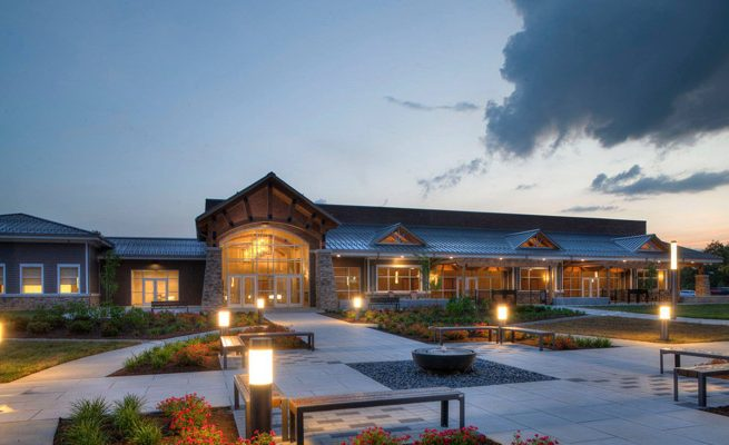 Valley Park Conference Center Exterior