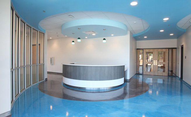 Valley Park Conference Center Pool Entrance